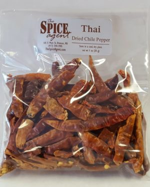 Thai Chile Pepper, Dried