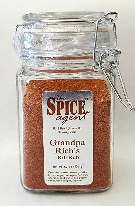 Grandpa Rich's Rib Rub