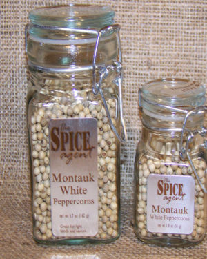 Montauk White Peppercorns